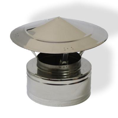 Грибок двустенный для дымохода 300/360 нерж/нерж 1 мм