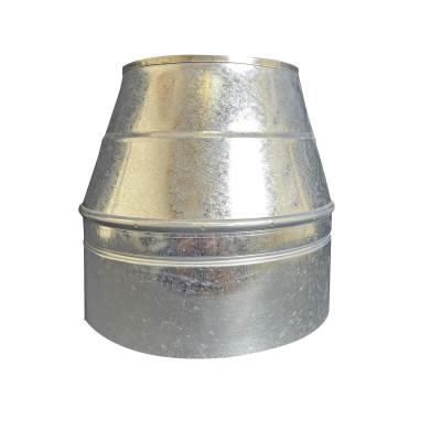 Конус димохідний ø 250/320 нерж / оцинк 0,6 мм