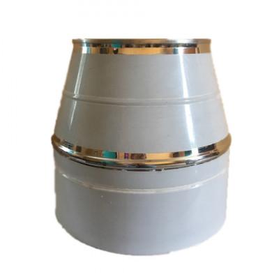 Конус дымоходный 180/250 нерж/нерж 0,6 мм