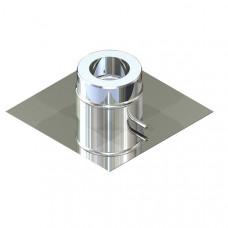 Підставка для підлоги для димоходу ø 100/160 н / н 0,6 мм