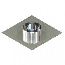 Підставка настінна для димоходу ø 100/160 н / н 0,6 мм