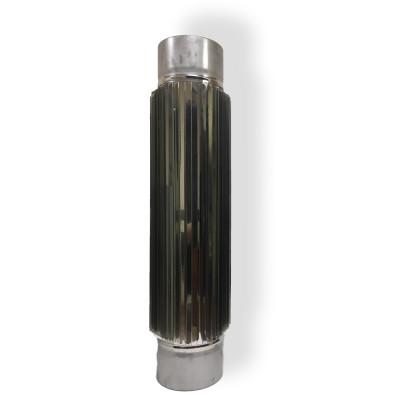 Радиатор для дымохода 0,5 м D 200 мм толщина 1 мм