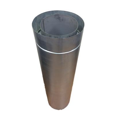 Труба дімохідна 0,3 м ø 100/160 н / оц 0,6 мм