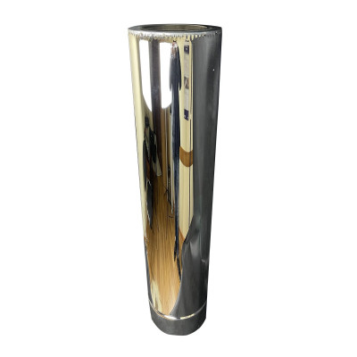 Труба дімохідна 1 м ø 350/420 н / н 1 мм