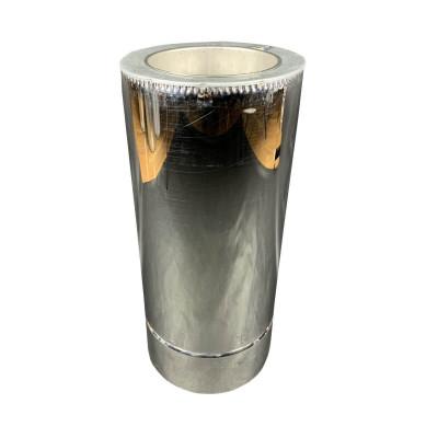 Труба дімохідна 0,5 м ø 150/220 н / н 0,8 мм