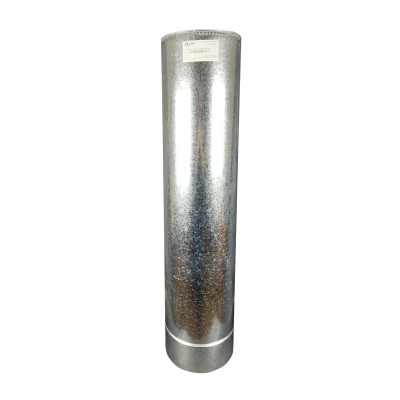 Труба дімохідна 1 м ø 230/300 н / оц 0,8 мм
