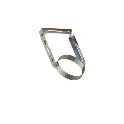 Хомут для димоходу нержавіюча сталь D-150 мм товщина 0,6 мм