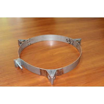 Кільце для димоходу нержавіюча сталь D-150 мм товщина 0,6 мм