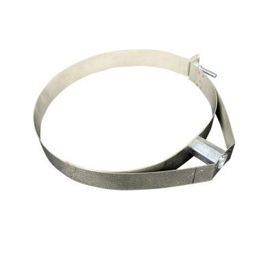 Скоба для димоходу нержавіюча сталь D-110 мм товщина 0,6 мм
