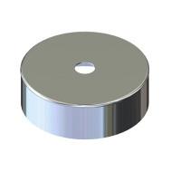 Дека для дымохода нержавейка D-230 мм толщина 0,6 мм