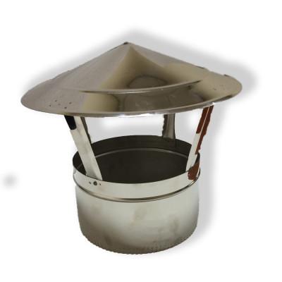 Грибок для димоходу нержавіюча сталь D-350 мм 1 мм
