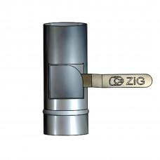 Регулятор тяги - кагла поворотна D-100 мм товщина 0,6 мм