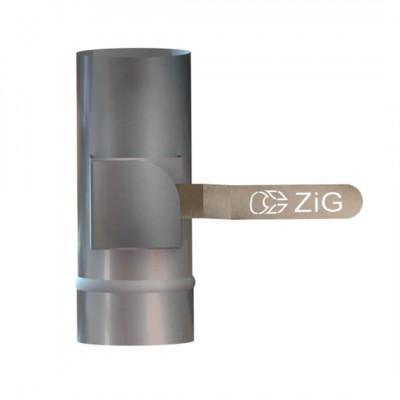 Регулятор тяги - кагла поворотна D-110 мм товщина 0,8 мм