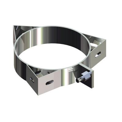 Кольцо под растяжку для дымохода нержавейка D-140 мм толщина 0,6 мм