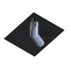 Крыза для дымохода нержавейка D-110 мм толщина 0,6 мм