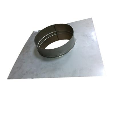 Закінчення для димоходу нержавіюча сталь D-400 мм товщина 0,6 мм