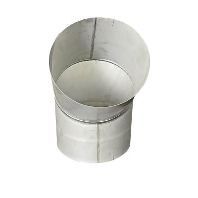 Коліно 45 ° для димоходу D-100 мм товщина 0,6 мм