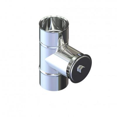 Ревизия дымоходная нержавейка D-250 мм толщина 1 мм