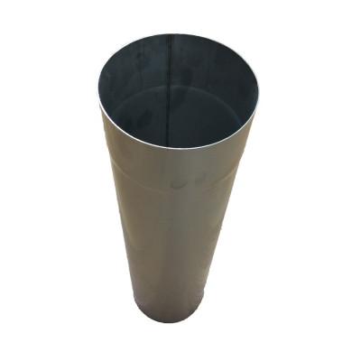Труба для дымохода L-1 м D-150 мм толщина 0,8 мм