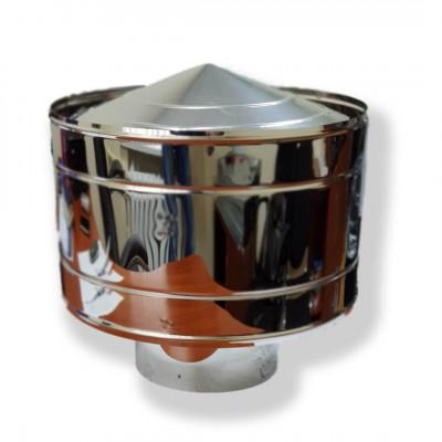 Волпер (дефлектор) для дымохода D-150 мм толщина 0,6 мм