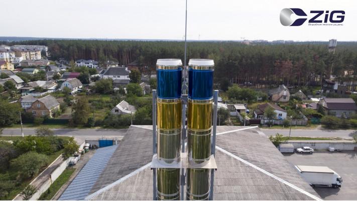 Відео огляд димоходу AISI 304 650/720 мм в Гостомелі