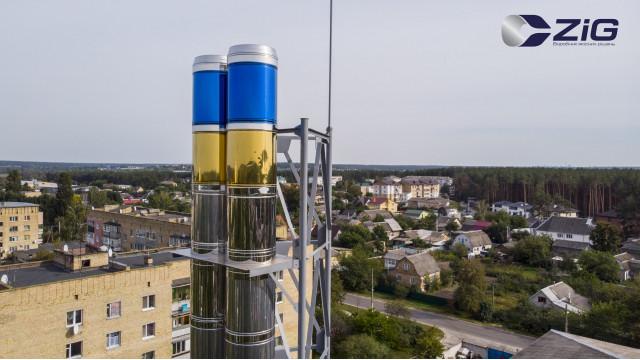Монтаж димоходу AISI 304 650/720 мм у Гостомелі