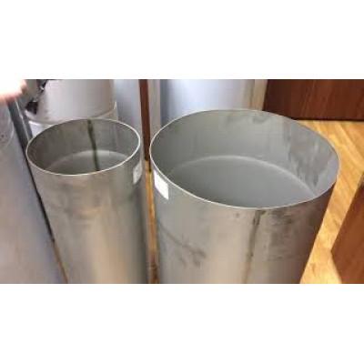 Труба для дымохода L-1 м D-230 мм толщина 1 мм
