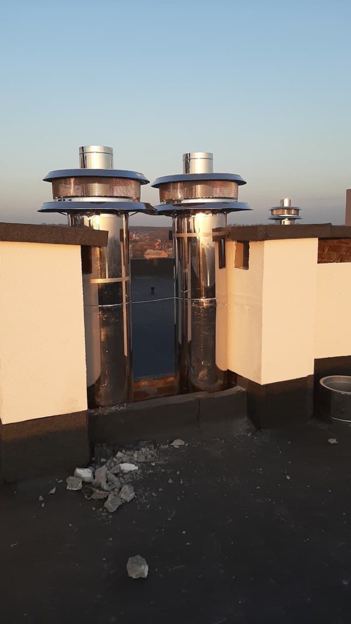 Система дымоходов для многоэтажного дома —  LAS